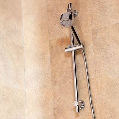 Vellamo Twist Round Shower Kit and Vellamo Cooltouch Minimalist Thermostatic Bar Valve