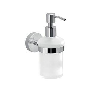 Gedy Eros Glass Soap Dispenser