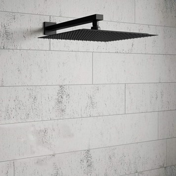 Harbour Status Fixed Wall Mounted Shower Head - 200mm or 300mm