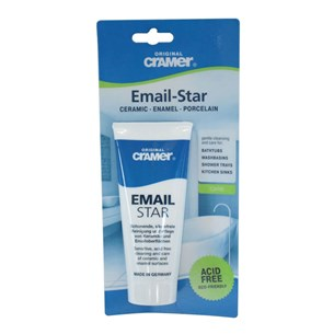 Cramer Professional Email-Star Ceramic, Porcelain, Enamel & Chrome Polish