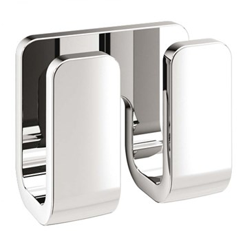 Gedy Outline Double Robe Hook