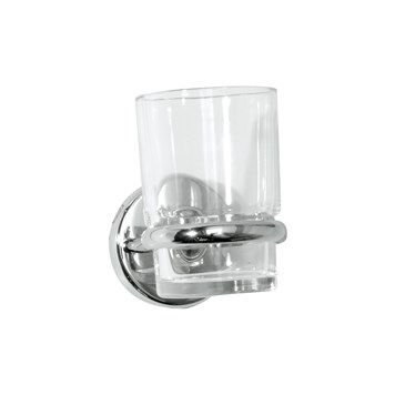 Roper Rhodes Wessex Clear Glass Tumbler & Holder