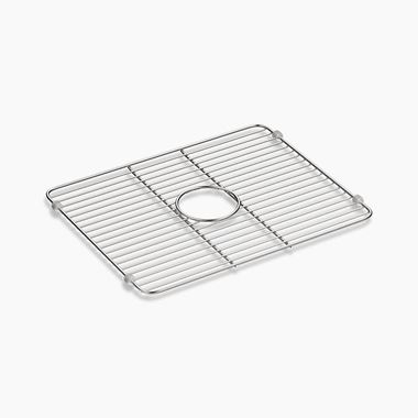 Kohler Large Bottom Sink Rinse Rack - Stainless Steel