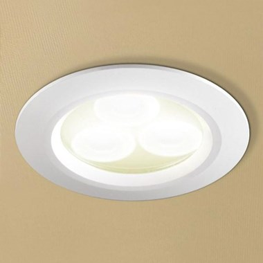 HIB Warm White LED White Showerlight