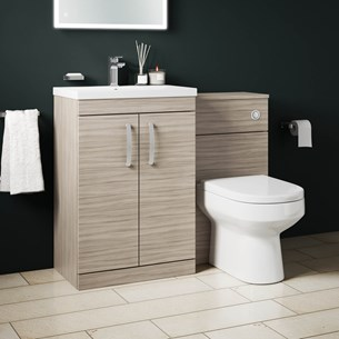 Combined Basin Toilet Furniture Units Tap Warehouse
