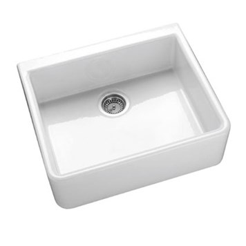 Villeroy & Boch Farmhouse 60 White Ceramic Single Bowl Belfast Sink