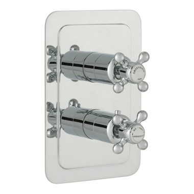 Butler & Rose Caledonia Crosshead Single Outlet Concealed Thermostatic Shower Valve