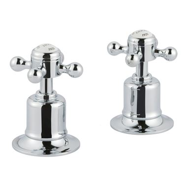 Butler & Rose Caledonia Crosshead Deck Mounted Panel Valves