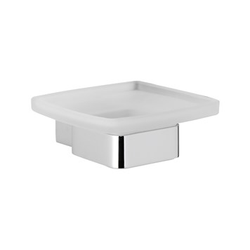 Roper Rhodes Horizon Frosted Glass Soap Dish Holder