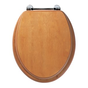 Roper Rhodes Axis Toilet Seat - Antique Pine Finish