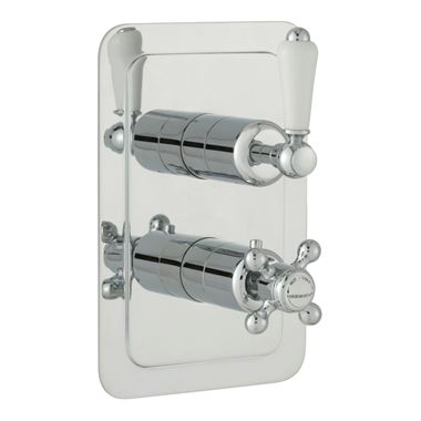 Butler & Rose Caledonia Lever Single Outlet Concealed Thermostatic Shower Valve