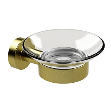 Miller Bond Soap Dish - Brushed Brass