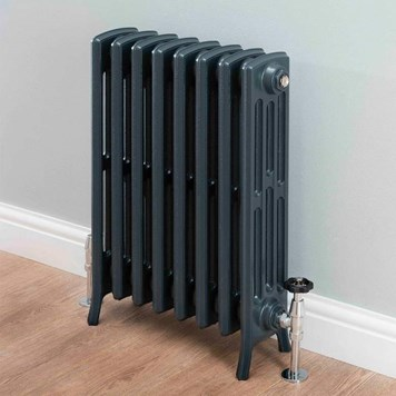 Butler & Rose Darcy 4 Column Cast Iron Radiator - 660 x 508mm