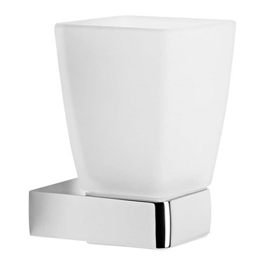 Roper Rhodes Media Frosted Glass Tumbler & Holder