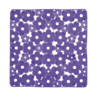 Gedy Margherita Non-Slip Shower Mat - Electric Blue