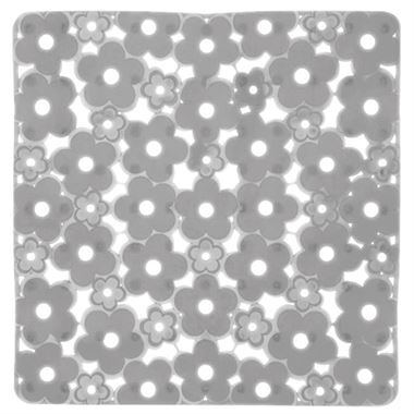 Gedy Margherita Non-Slip Shower Mat - Ice Clear