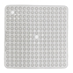 Gedy Funky Bubble Clear Non-Slip Square Shower Mat