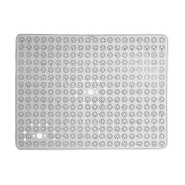 Gedy Funky Bubble Clear Non-Slip Rectangular Shower Mat