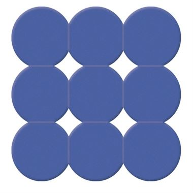 Gedy Giotto Non-Slip Shower Mat - Blue