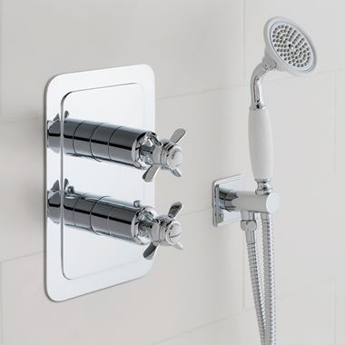 Butler & Rose Caledonia Pinch Two Outlet Concealed Shower Valve