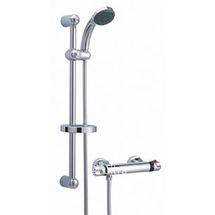 Ultra Dune Thermostatic Bar Valve With Slider Rail Kit