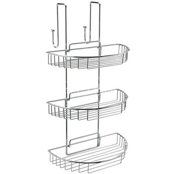 Sagittarius Curve Shower Cubicle Shelf Tidy  (280 X 510 X 270Mm)