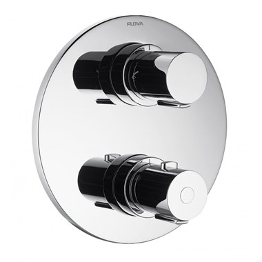 Flova Allore 3 Outlet Concealed Thermostatic Shower Valve with Easyfit SmartBOX