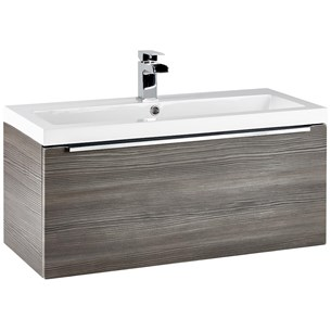 Harbour Alchemy 800mm Wall Hung Vanity Unit & Basin - Avola Grey