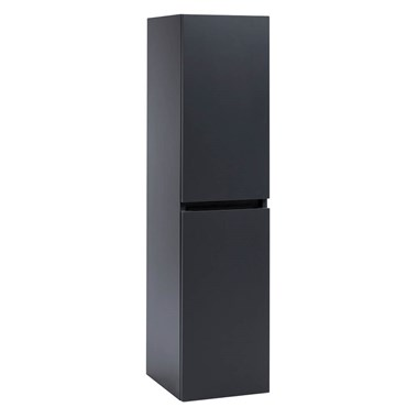 Harbour Alchemy 1200mm Tall Wall Mounted Cabinet - Anthracite Grey