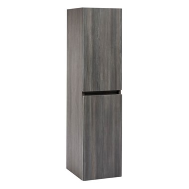 Harbour Alchemy 1200mm Tall Wall Mounted Cabinet - Avola Grey