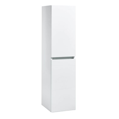 Harbour Alchemy 1200mm Tall Wall Mounted Cabinet - Gloss White