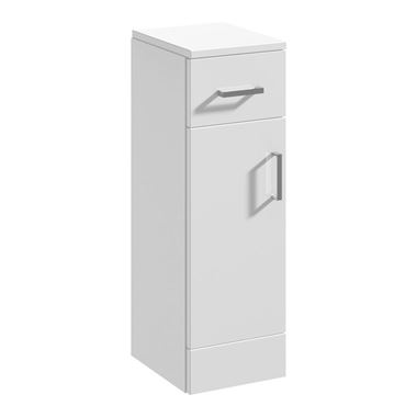 Alpine 250mm White Storage Cupboard