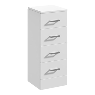 Vellamo Alpine 300mm Drawer Storage Unit - 330mm Depth