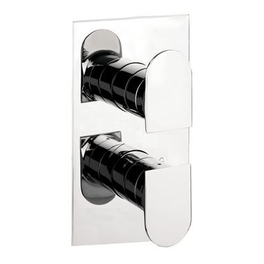 Vellamo Altera Thermostatic Shower Valve - Single Outlet