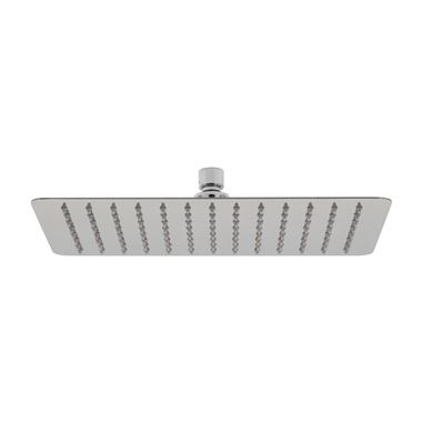 Vado Aquablade Slim Line Easy Clean Rectangular Shower Head 200x300mm
