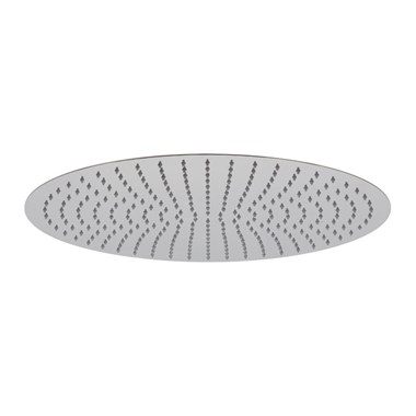 "Vado Aquablade Slim Line Easy Clean Round Shower Head 500mm (20"")"