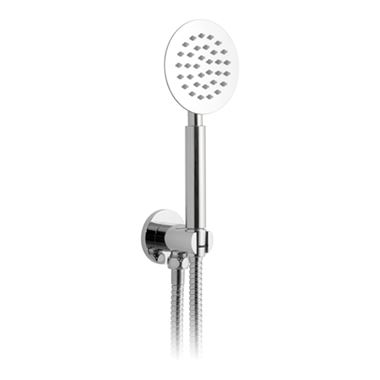 Vado Aquablade Round Mini Shower Kit With Integrated Outlet And Bracket