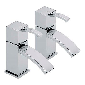 Sagittarius Arke Pair of Bath Taps