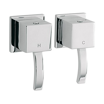 Sagittarius Arke Pair of Wall Mounted Side Valves
