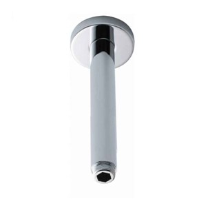 Ultra Round Ceiling Mounted Shower Arm - 300mm