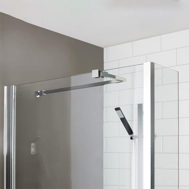 Vellamo Universal Stabilising Arm for Bath & Shower Screens