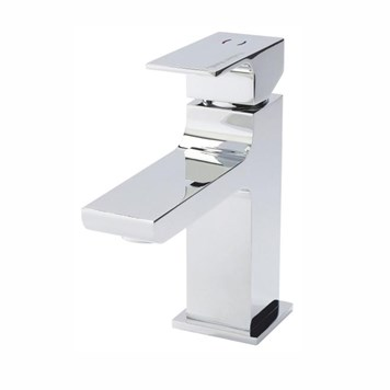Hudson Reed Art Mono Basin Mixer with Push Button Waste