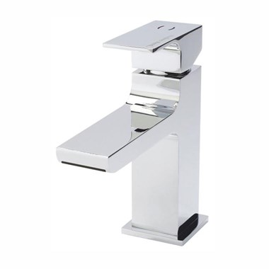 Hudson Reed Art Waterfall Mono Basin Mixer with Push Button Waste