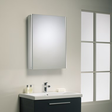 Roper Rhodes Limit Single Mirror Glass Door Cabinet