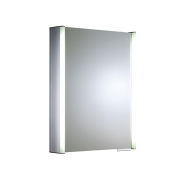 Roper Rhodes Plateau Illuminated Single Mirror Glass Door Cabinet