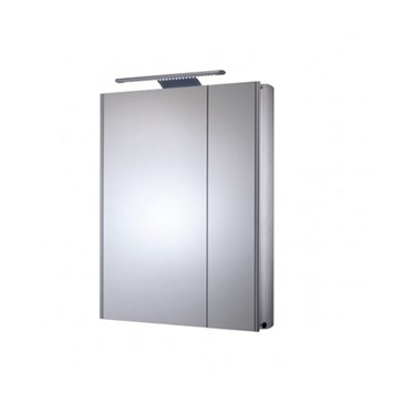 Roper Rhodes Refine LED Illuminated Double Mirror Glass Door Cabinet