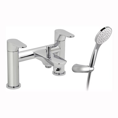 Vado Ascent Bath Shower Mixer Single Lever With Shower Kit