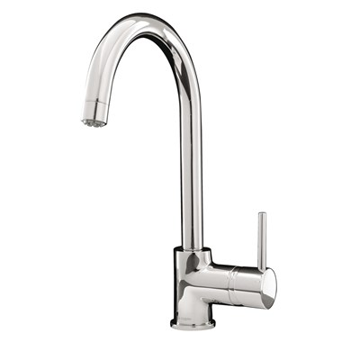 Caple Aspen Single Lever Mono Kitchen Mixer - Chrome