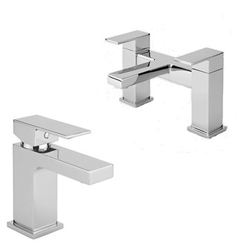 Vellamo Aspire Basin Mixer & Bath Filler Pack