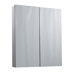 Aspire 2 Door Mirror Cabinet - Gloss Grey
